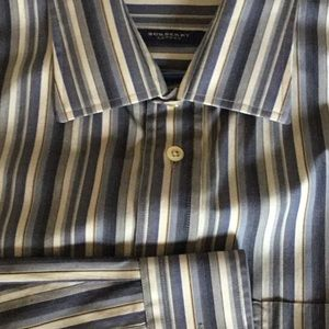 Burberry striped shirt perfect condition